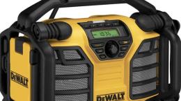 DEWALT has launched its new 12V MAX*/20V MAX** Charger/Radio DCR015.