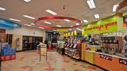 Sheetz convenience stores now feature Cree CR14 linear luminaires and CR6 downlights.