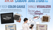 Atlas Roofing's Select Your Roof app for iPad