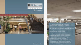 H.H. Robertson offers free iPad app.