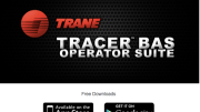 Trane Tracer Building Automation System (BAS) Operator Suite mobile app