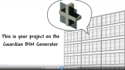 Guardian Industries' web-based BIM Generator