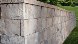 Belgard Hardscapes' Mega-Tandem Mass Retaining Wall (MRW) block