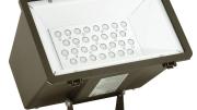 Hubbell Outdoor Lighting's LED Miniliter MHS LED Floodlight