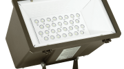 Hubbell Outdoor Lighting's LED Miniliter MHS LED Floodlight