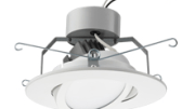 Acuity Brands Inc.'s LED Gimbal adjustable downlighting modules from Lithonia Lighting