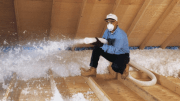 CertainTeed's InsulSafe SP fiberglass blowing insulation