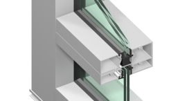 E44000 Series storefront and entrance systems have been added to Tubelite's ForceFront Storm hurricane impact-resistant products.