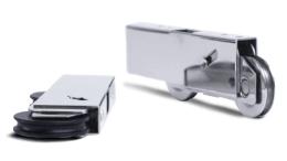 LaCantina Doors' new multi slide doors features AAMA certified wheels for a uniform, symmetrical low-profile bottom rail