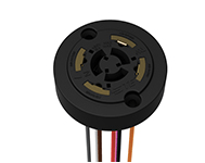TE Connectivity's ANSI C136.41 compliant dimming receptacle