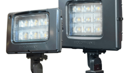 Acuity Brands Inc. introduces Predator LED floodlights from Holophane: PMLED and PLLED luminaires.