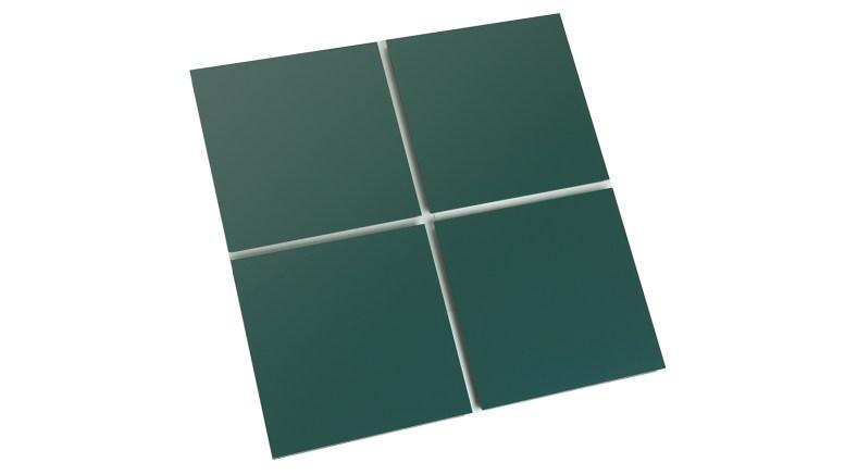 Aluminum Panel Features Plate Spline At Joints Retrofit