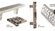 Du Verre's textured cabinet hardware