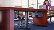 """Legrand Meeting Room Solutions include InteGreat Series products that have built-in flexibility to manage cabling over the """"last meter"""" to the point of use."""