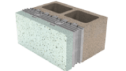 Oldcastle Architectural's InsulTech, a complete Insulated Concrete Masonry Unit system