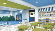 With the introduction of Colorations Integrated Ceiling Systems, Armstrong is now making a complete acoustical ceiling solution available in 13 standard colors with coordinating ceiling panels, suspension system, and trim.