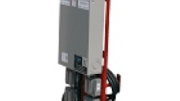 Larson Electronics has added to its extensive range of industrial grade lighting equipment with the release of a mobile distribution system that steps down 240 volts AC electrical current to 120 volts AC.
