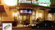 The Washington, D.C., Hilton Garden Inn had been using incandescent bulbs in the marquee since the hotel was built in 2011, and they needed to be replaced at least once a week.