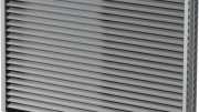 Greenheck introduces Model AFL-501, a 5.5 inch deep, severe duty aluminum louver that protects exterior wall penetrations on FEMA 361 or 320 compliant storm shelters or safe rooms.