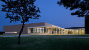 Selser Schaefer Architects assisted in reinventing the school's single-story Modern architecture.