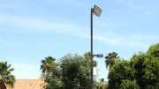 LED Lighting Powered by Photovoltaic Panels Keeps Community Safe While Reducing Light Pollution
