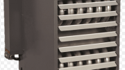 The redesigned gas unit heaters now feature a tubular heat exchanger.