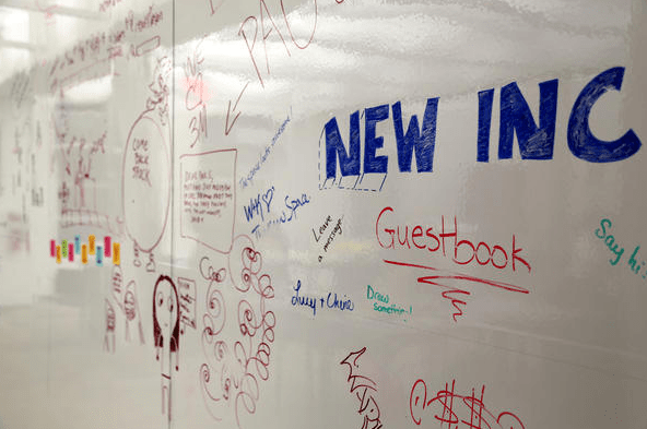 "3M's Whiteboard Finishes were tested and developed to nearly eliminate ""ghosting"", thereby leaving a clean, mark-free board even after many rounds of erasing."