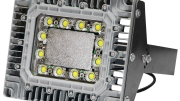 Larson Electronics' EPL-IBM-150LED-RT explosion-proof high bay light fixture.
