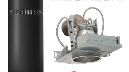MegaLum downlight (MD8LED) or cylinder (MC10LED) by Prescolite
