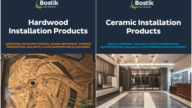 Bostik Inc. has published two all-inclusive four-color product catalogs, which are now readily available upon request by qualified industry professionals.