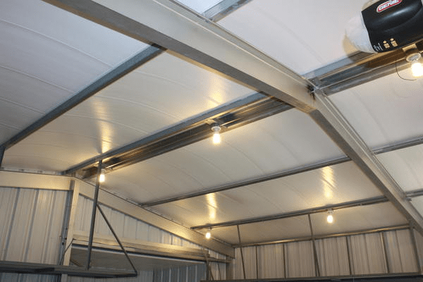 Add Insulation to Metal and Postframe Buildings  retrofit