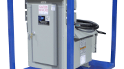Larson Electronics released a 15 KVA power distribution panel system that converts three phase 480 volts AC to single phase 120 volts AC.