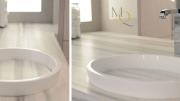 MTI Baths introduces its Continuum semi-recessed sink.