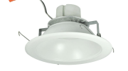Nora Lighting expands its LED recessed downlight offerings with the Cobalt Series, a cULus-wet listed retrofit fixture for use in existing IC or non-IC housings manufactured by Nora and others.
