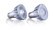 Soraa's POINT SOURCE OPTICS technology enables the offering of a 10-degree narrow spot version of a PAR20 LED lamp while delivering a high center beam candlepower.