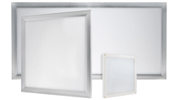 Super Bright LEDs has introduced its Decorative Edge-Lit LED Glass Flat Panel Lighting, which is available in round and square versions with glass bezel for a decorative glow.