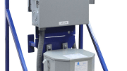 Larson Electronics released a temporary power distribution system that converts 480 volts AC current to single phase 120 volts AC and 240 volts AC.