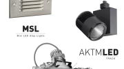 Prescolite has significantly expanded its LED lighting portfolio with the introduction of three new energy-efficient lighting solutions—the MSL mini step light, the AKTMLED track light and the LFA6LED downlight.