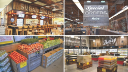 Viridian Reclaimed Wood introduces a line of prefabricated, customizable fixtures for grocery and specialty retailers.