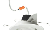 A 5-inch aperture adjustable LED downlight is now available from Nora Lighting.