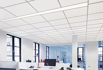 Armstrong Ceiling & Wall Systems has partnered with XAL Lighting to introduce a proprietary integrated ceiling and lighting installation system that offers higher ceiling heights, zero plenum interference, and on-center continuous or noncontinuous linear lighting layouts.