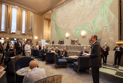 LG Electronics USA is connecting architects, building engineers and designers with true-life examples of how advances in commercial air conditioning and display technology helped transform an iconic landmark building into a 21st century hotel.