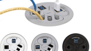 Mockett introduces PCS78, a low profile power grommet with numerous options.