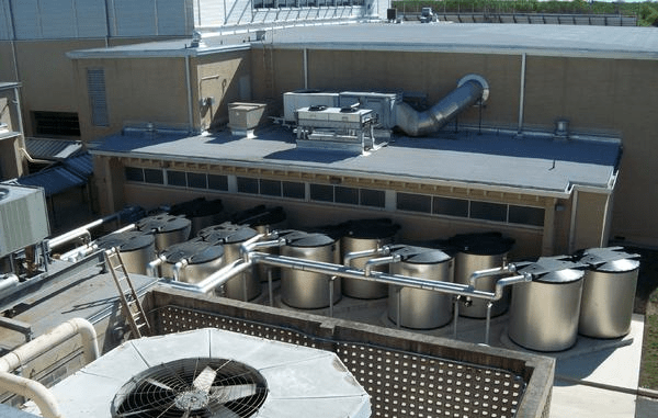 The San Antonio-based Alamo Heights Independent School District's new Fine Arts Building did not increase peak energy demand, thanks to a new ice-based energy storage system, which was integrated with existing HVAC equipment.