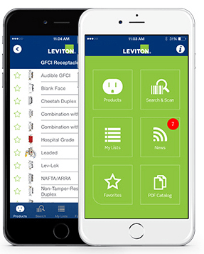 Leviton introduces an updated version of the Leviton 2 Go mobile application.