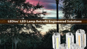 EYE Lighting International has published a new brochure covering its patented LEDioc LED Lamp.