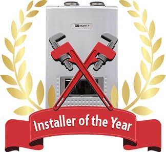 "Plumbing and heating contractors who install Noritz tankless water heaters can now enter the company's ""Installer of the Year"" contest."
