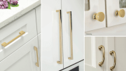 Atlas Homewares introduces a French Gold Finish to its decorative hardware line.