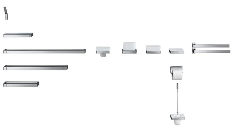 Axor Universal Accessories collection is the Axor brand's comprehensive system of accessories.