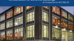 The American Concrete Institute announces the availability of a new invaluable publication for concrete industry professionals—Guide to the Code for Evaluation, Repair, and Rehabilitation of Concrete Buildings.